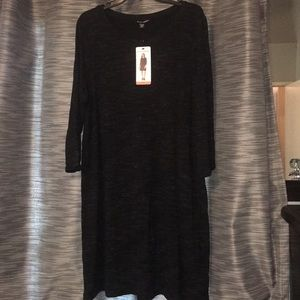 NWT Xxl black dress.
